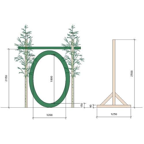 茅の輪デザイン