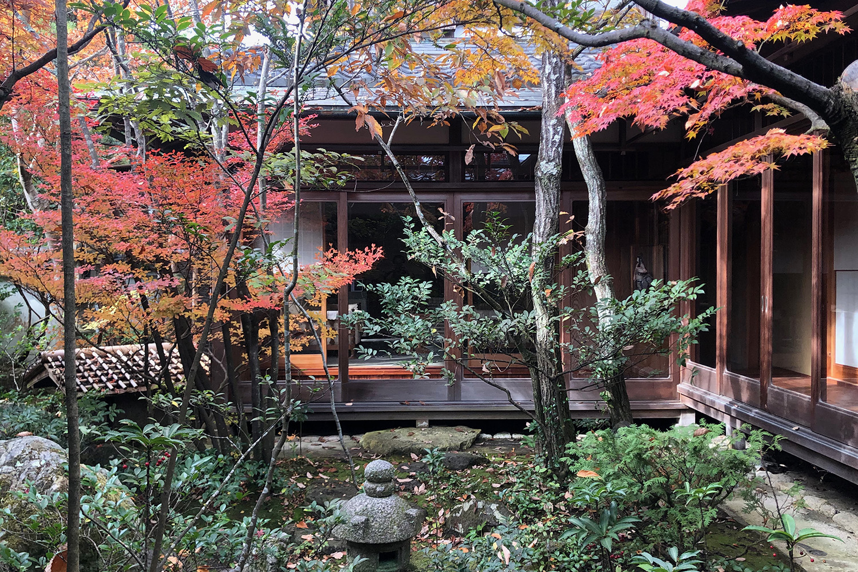 近江庭園  紅葉の空間 四季の庭づくり