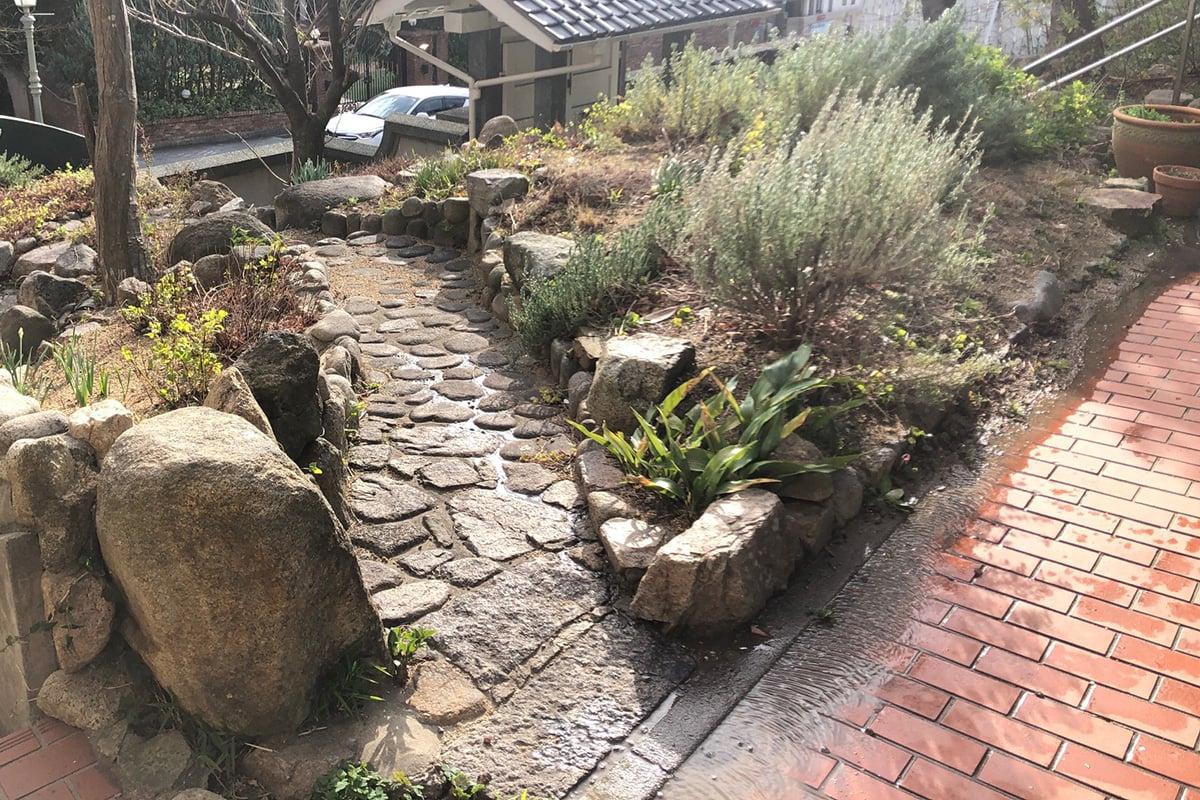 兵庫県三宮市のお庭・造園計画