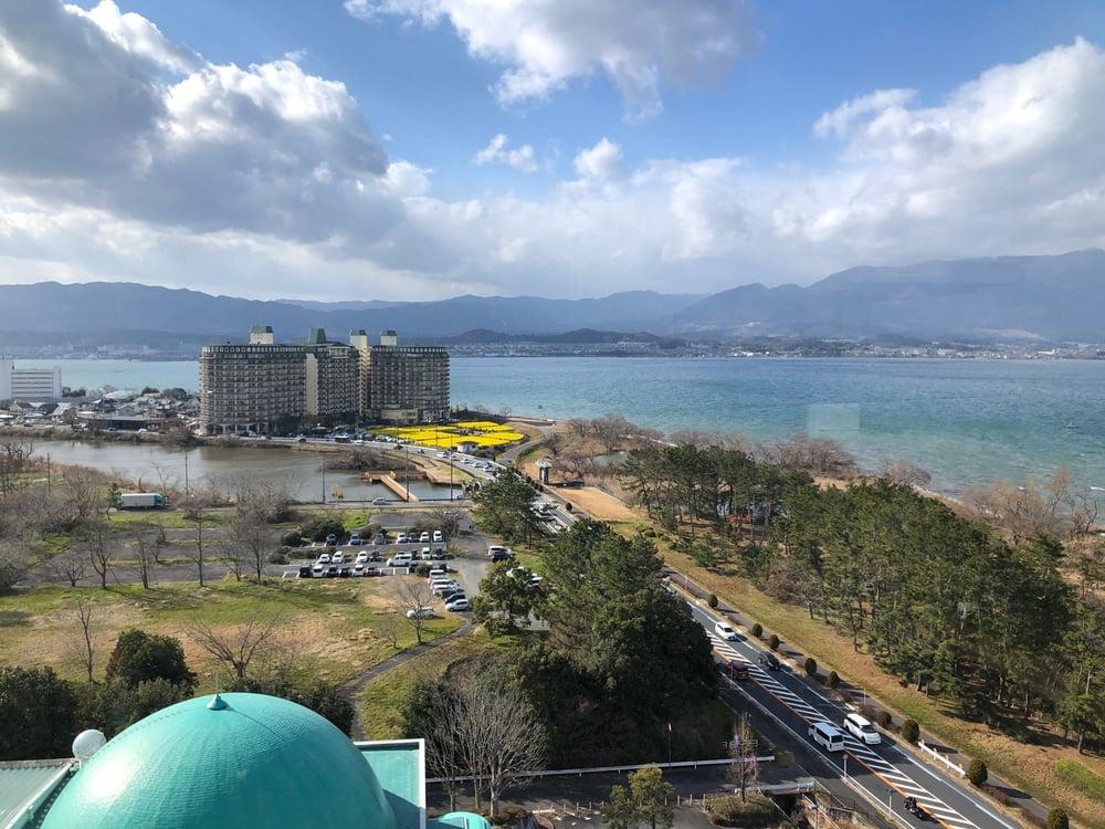 琵琶湖マリオットホテル 菜の花畑