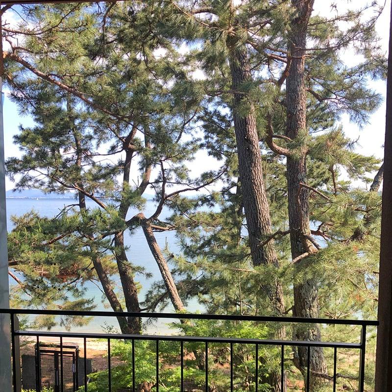 お庭づくり 琵琶湖 旅館 滋賀県