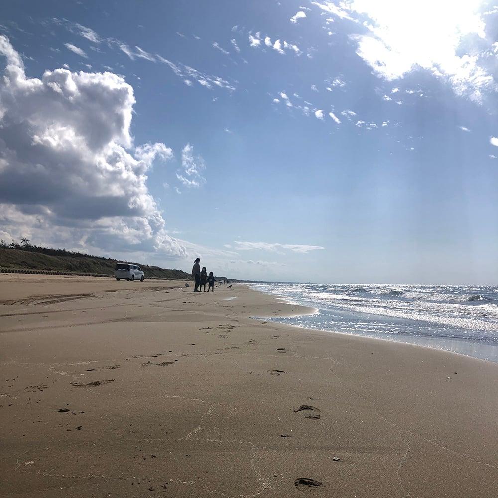 砂浜 お庭づくり