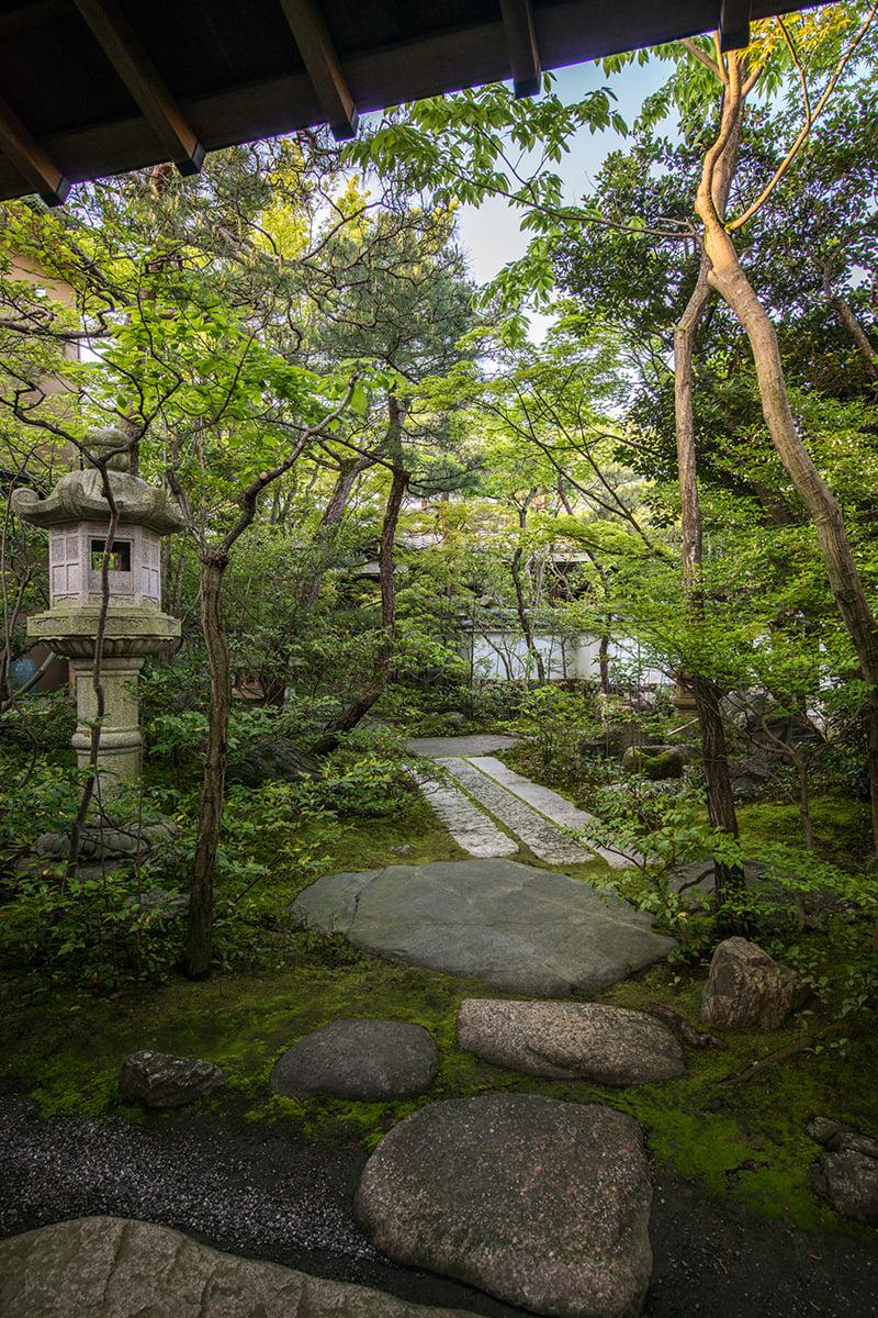 森林浴 お庭 自然セラピー